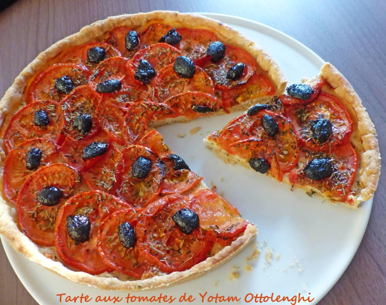 Tarte aux tomates de Yotam Ottolenghi P1260592 R