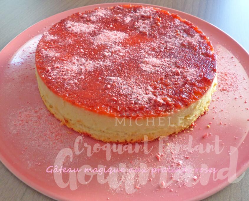 Gâteau magique aux pralines roses P1270274 R