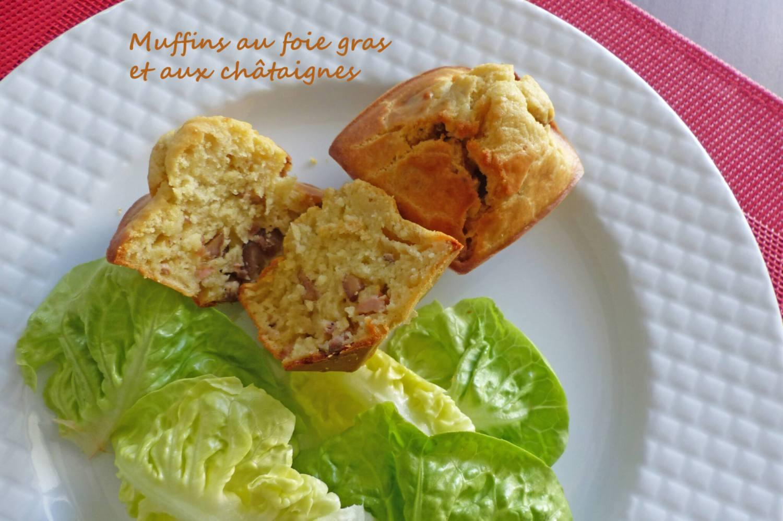 Muffins au foie gras et aux châtaignes P1270153 R