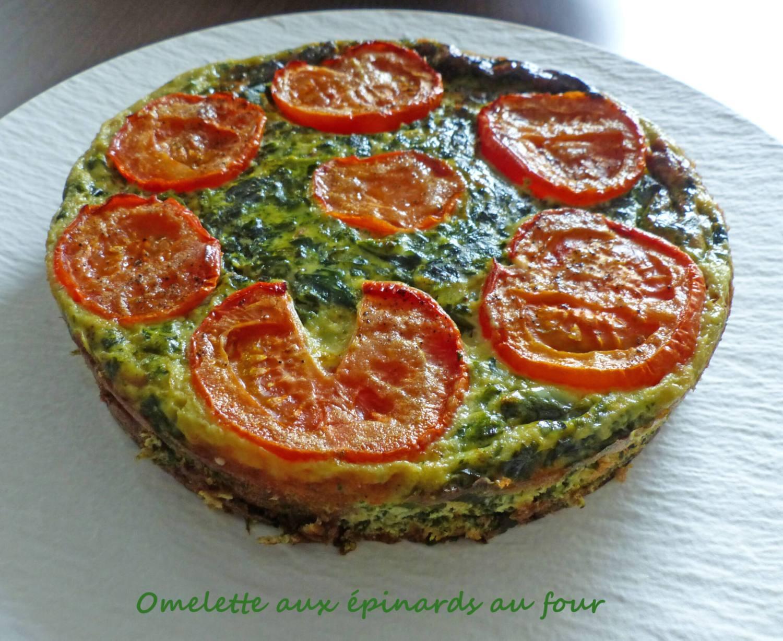 Omelette aux épinards au four P1260662 R