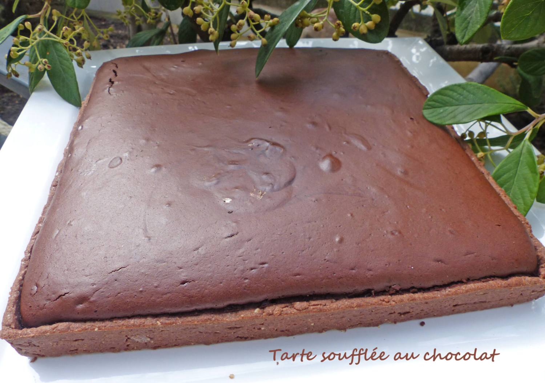 Tarte soufflée au chocolat P1260872 R
