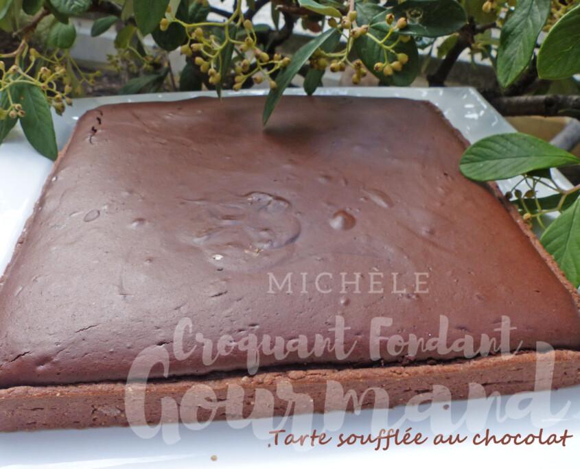 Tarte soufflée au chocolat P1260873 R
