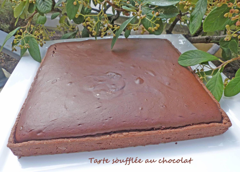 Tarte soufflée au chocolat P1260875 R