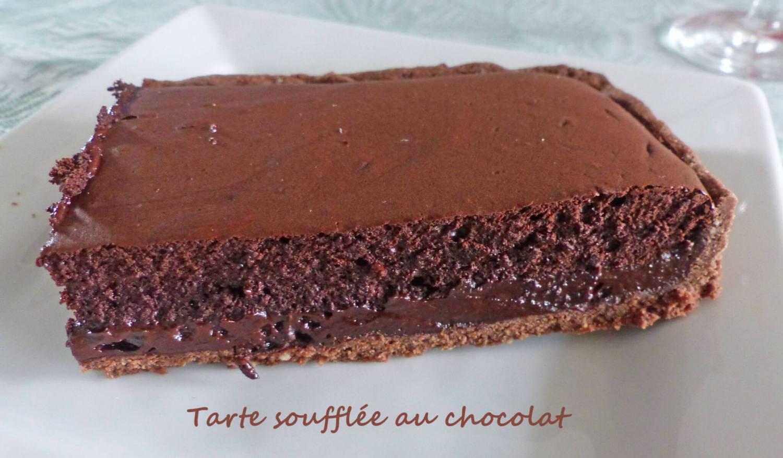 Tarte soufflée au chocolat P1260876 R