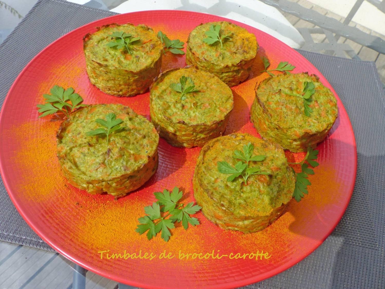 Timbales de brocoli-carotte P1260935 R