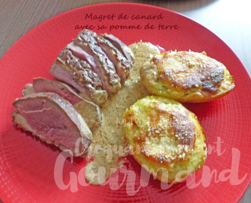 Magret de canard avec sa pomme de terre P1280761 R
