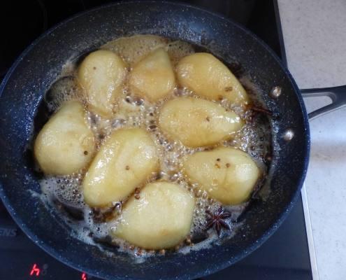 Riz au lait aux poires caramélisées P1280450
