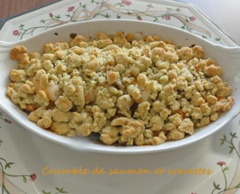 Crumble de saumon et crevettes P1010184 R (Copy)