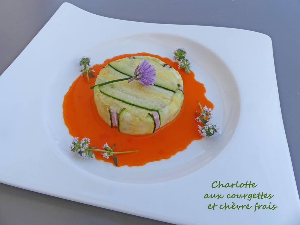 Charlotte aux courgettes et chèvre frais P1010560 R (Copy)