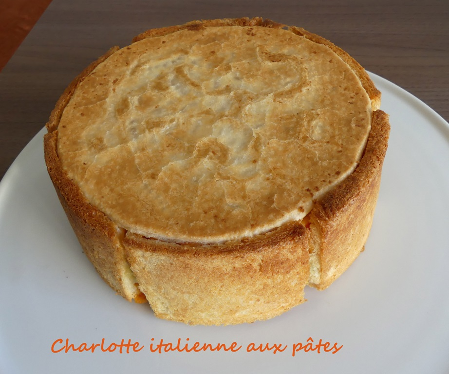 Charlotte italienne aux pâtes P1010588 R (Copy)