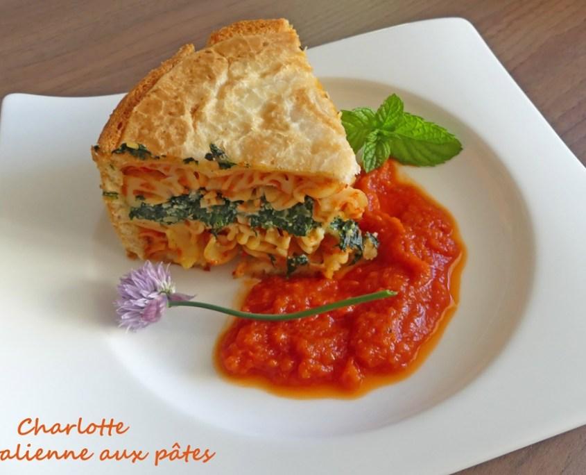 Charlotte italienne aux pâtes P1010593 R (Copy)