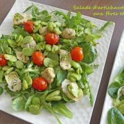Salade d'artichauts aux fèves et citron P1010315 R (Copy)