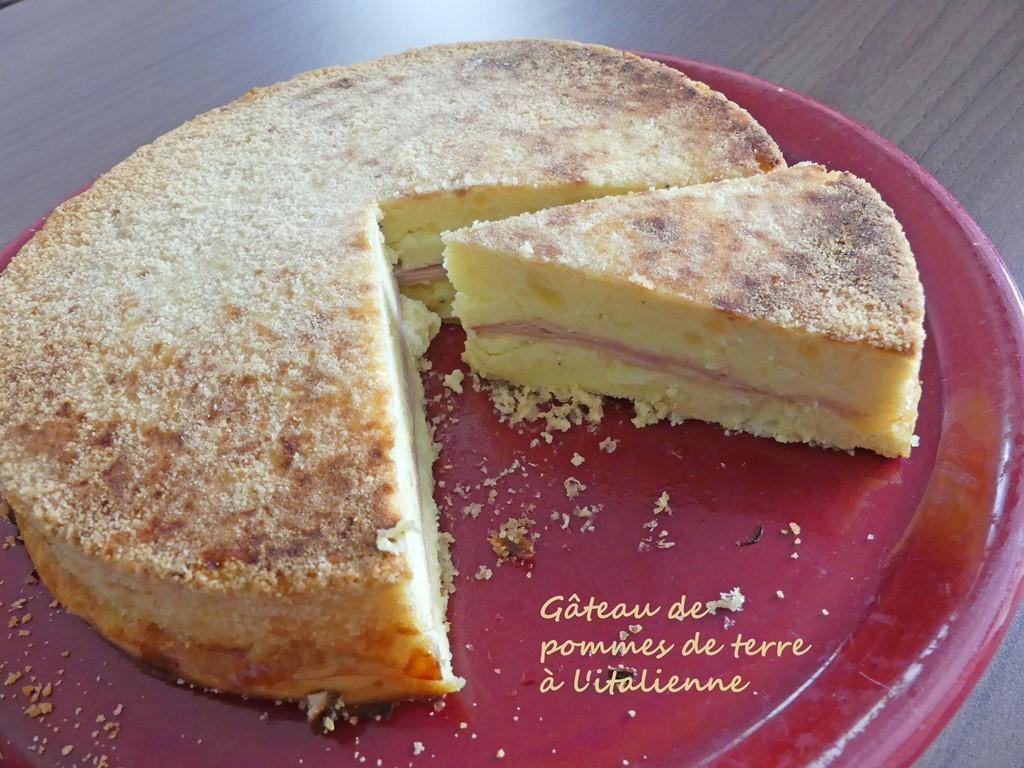Gâteau de pommes de terre à l'italienne P1010672 R (Copy)