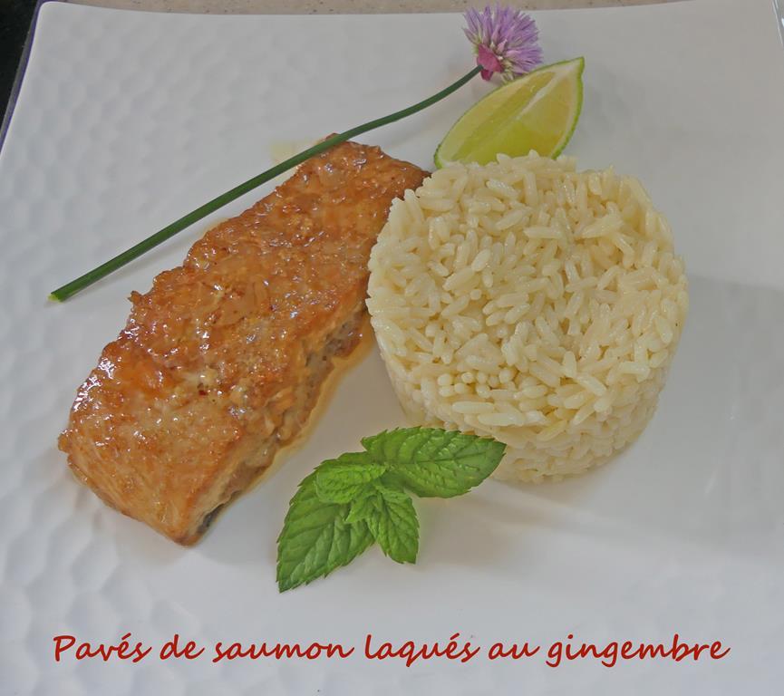 Pavés de saumon laqués au gingembre P1010553 R (Copy)
