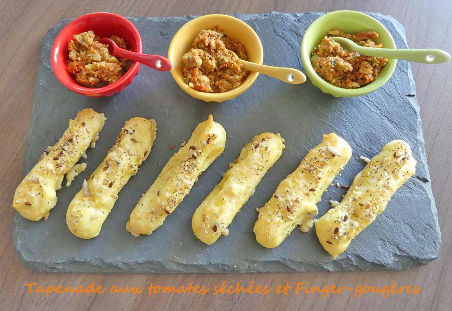 Tapenade aux tomates séchées et Finger-gougères P1020311 (Copy) R