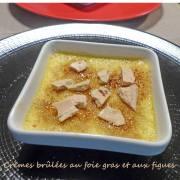 Crèmes brûlées au foie gras et aux figues P1270183 r