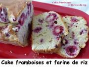 Cake framboises et farine de riz Index P1020909