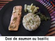 Dos de saumon au basilic Index DSCN3941