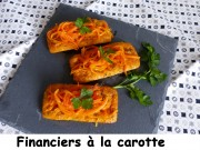 Financiers à la carotte Index P1010938