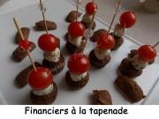 Financiers à la tapenade Index DSCN3658