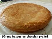 Gâteau basque au chocolat praliné Index P1020121