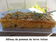 Gâteau de pommes de terre italien Index DSCN4692