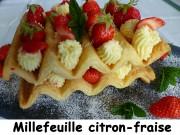 Millefeuille citron-fraise Index P1030060