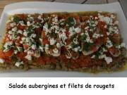 Salade aubergines et filets de rougets Index DSCN5204