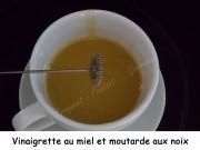 Vinaigrette au miel et moutarde aux noix Index DSCN4262