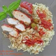 Blancs de poulet marinés à la provençale P1020338 R (Copy)