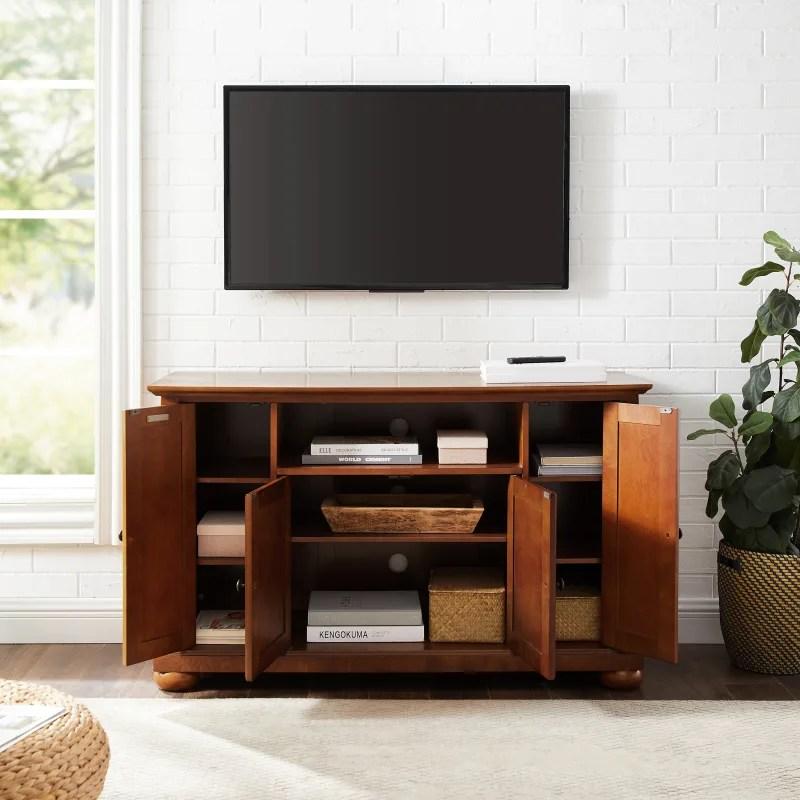 crosley furniture alexandria 48 tv stand