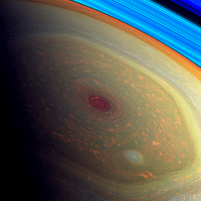 Saturn's hexagonal North Pole