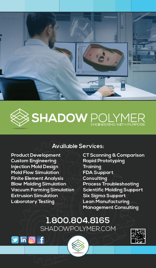 Shadow Polymer Promotional Signage