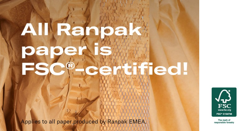 A paper manufacturing company may have to opt for fsc 100%, fsc mixed, fsc recycled. Ranpak Earns Full Fsc Certification For Its Paper Packaging Products Cross Border E Commerce Magazine