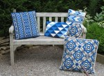 summer blues in many pattern choices