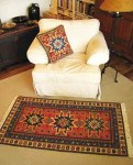 Kilim 01 colors in pillow and rug