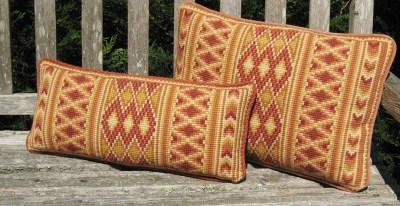 Morocco Stripe in spice colors