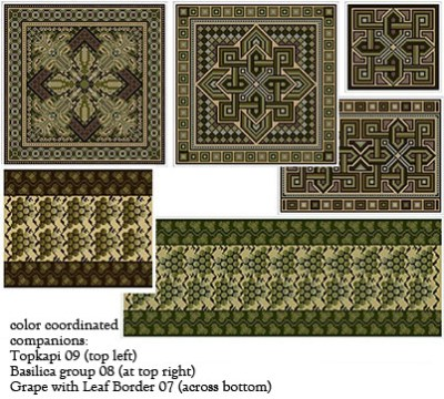 neutral tapestry colors