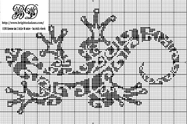 The Salamander Cross Stitch Chart - Cross-Stitch