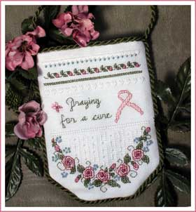 Free chart praying for a cure prayer pocket cross stitch for Cross in my pocket craft