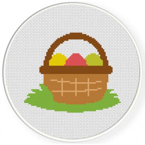 Egg-Basket-Cross-Stitch-Illustration-500x500