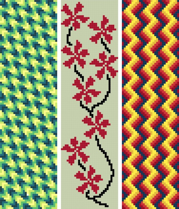 bookmark_15_abstract_cross_stitch_image