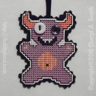 monster cross stitch pattern