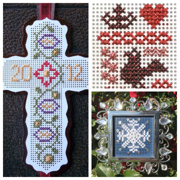 Christmas cross stitch free pattern collection