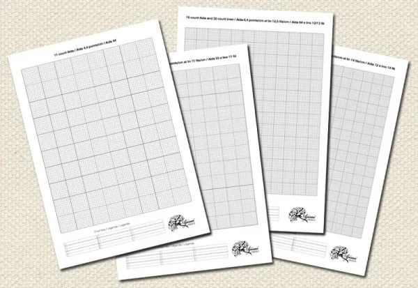 make your own cross stitch designs with these printable grids  u2013 cross