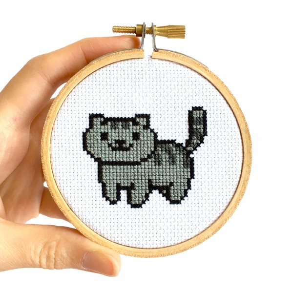 free cross stitch patterns for neko atsume cats
