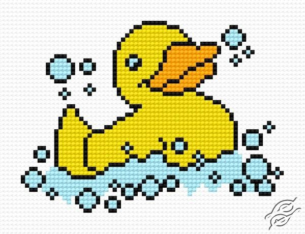 rubber duckie cross stitch pattern