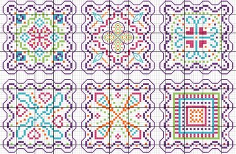Stitch Some Fun Designs, in Monocrome or Multicolor