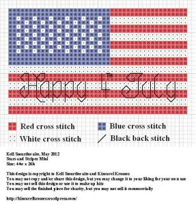 Stars and Stripes Mini Pattern