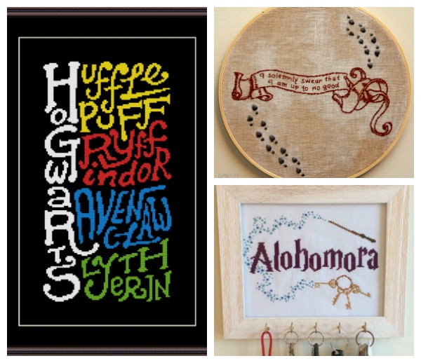 Harry Potter cross stitch designs